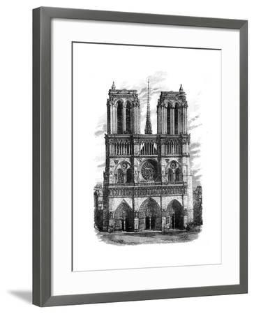 Notre Dame, Paris, C1888--Framed Giclee Print