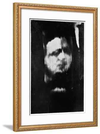 John Logie Baird's First Television Demonstration, 1926--Framed Giclee Print