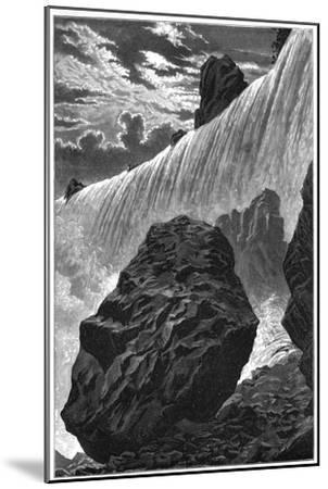 View of the Falls of Niagara, 1877--Mounted Giclee Print