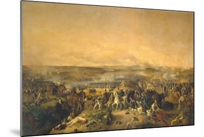The Battle of Borodino on August 26, 1812, 1843-Peter Von Hess-Mounted Giclee Print