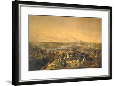 The Battle of Borodino on August 26, 1812, 1843-Peter Von Hess-Framed Giclee Print
