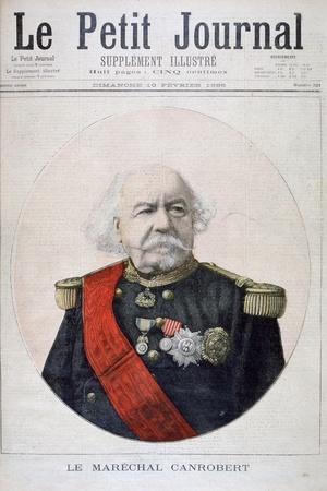 François Certain Canrobert, Marshal of France, 1895--Framed Giclee Print