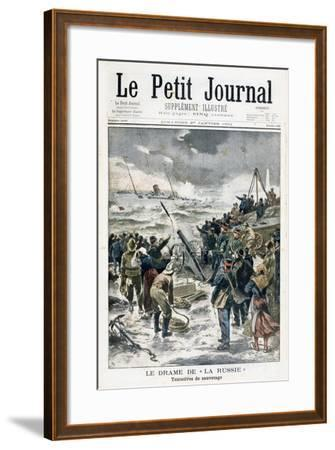Attempts at Rescue, 1901--Framed Giclee Print