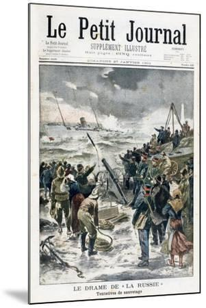 Attempts at Rescue, 1901--Mounted Giclee Print