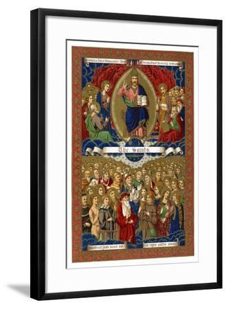 The Saints, 1886--Framed Giclee Print