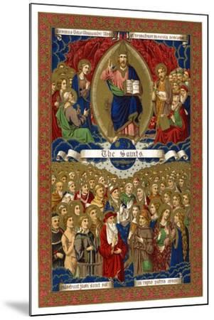 The Saints, 1886--Mounted Giclee Print