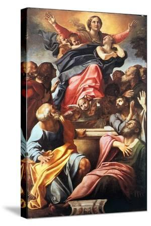 The Assumption of the Blessed Virgin Mary, 1600-1601-Annibale Carracci-Stretched Canvas Print