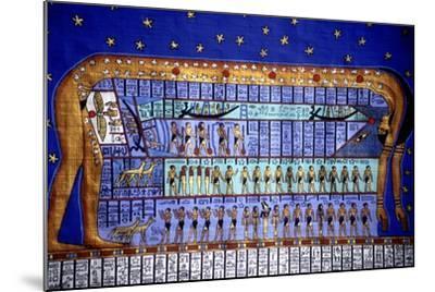 Egyptian Cosmos--Mounted Giclee Print