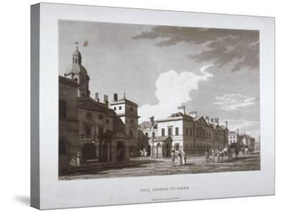 Horse Guards, Westminster, London, 1794--Stretched Canvas Print