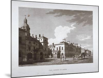 Horse Guards, Westminster, London, 1794--Mounted Giclee Print