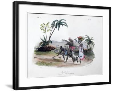 Gardeners, 1828- Marlet et Cie-Framed Giclee Print