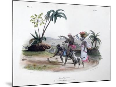 Gardeners, 1828- Marlet et Cie-Mounted Giclee Print
