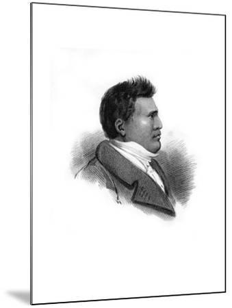 Rhio Rhio, King of the Sandwich Islands, C1824--Mounted Giclee Print