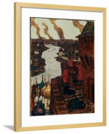 Tatars are Coming! End of XIVth Century, 1909-Appolinari Mikhaylovich Vasnetsov-Framed Giclee Print