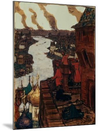 Tatars are Coming! End of XIVth Century, 1909-Appolinari Mikhaylovich Vasnetsov-Mounted Giclee Print