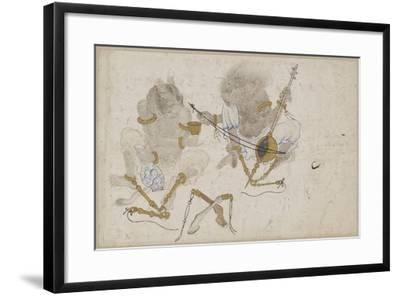 Two Demons, Fettered, 15th Century--Framed Giclee Print