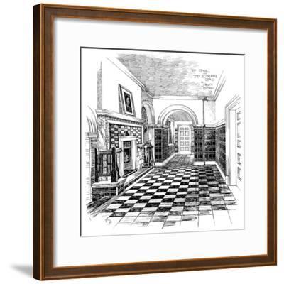 The Hall, 15, Melbury Road, 1899-Charles Edward Mallows-Framed Giclee Print
