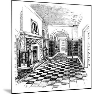 The Hall, 15, Melbury Road, 1899-Charles Edward Mallows-Mounted Giclee Print