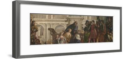 The Family of Darius before Alexander, C. 1565-Paolo Veronese-Framed Giclee Print