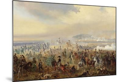 The Battle of Leipzig in October 1813, 1886-Gottfried Willewalde-Mounted Giclee Print
