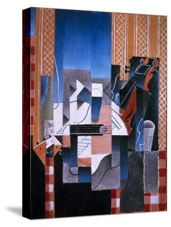 Violin and Guitar, 1913-Juan Gris-Stretched Canvas Print