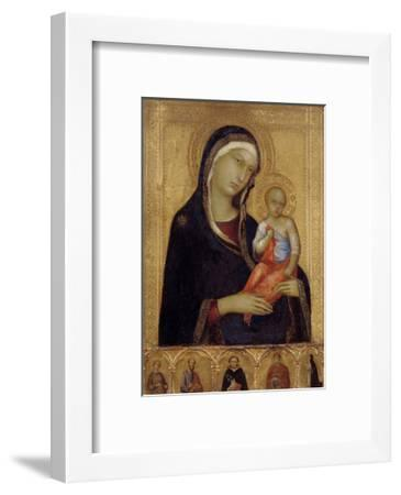Virgin and Child, C. 1324-1325-Simone Di Martini-Framed Giclee Print