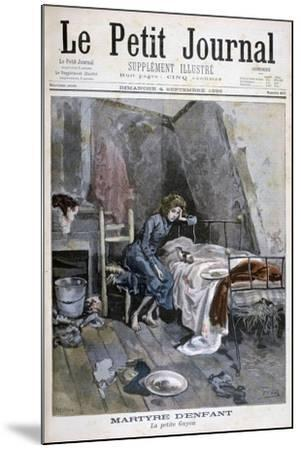 Revolte of the Blind Men in a Hospice, France, 1904--Mounted Giclee Print