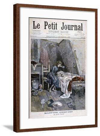 Revolte of the Blind Men in a Hospice, France, 1904--Framed Giclee Print