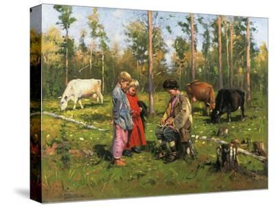 Shepherd Boys, 1903-1904--Stretched Canvas Print