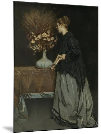 Autumn Flowers, 1867-Alfred Stevens-Mounted Giclee Print