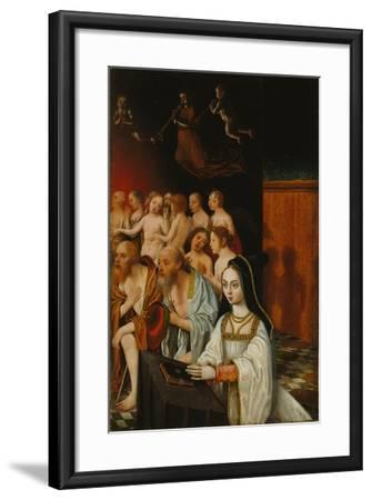 The Souls of the Just and Donor, C. 1520-Jan Mostaert-Framed Giclee Print