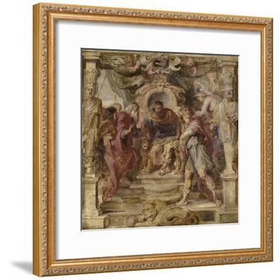The Wrath of Achilles, 1630-1635-Peter Paul Rubens-Framed Giclee Print