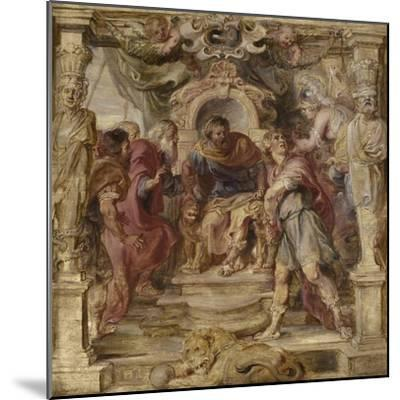 The Wrath of Achilles, 1630-1635-Peter Paul Rubens-Mounted Giclee Print