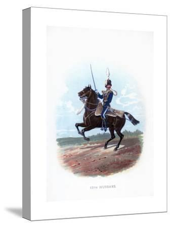 13th Hussars, 1889--Stretched Canvas Print