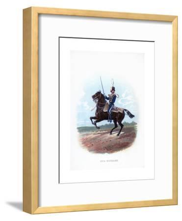 13th Hussars, 1889--Framed Giclee Print
