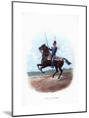 13th Hussars, 1889--Mounted Giclee Print
