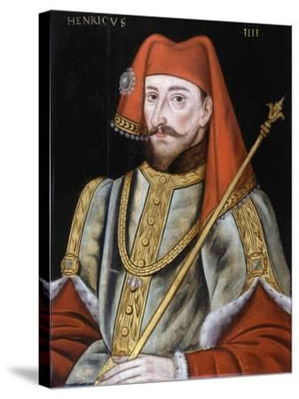King Henry IV of England, End of 16th C--Stretched Canvas Print