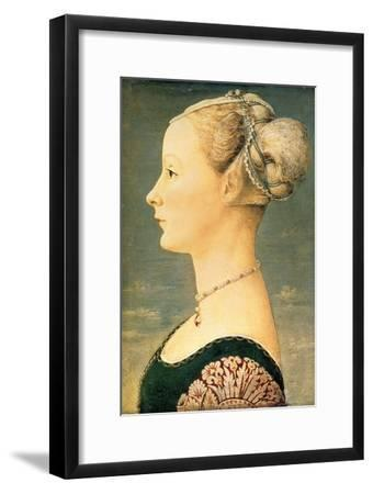 Portrait of a Woman, Second Half of the 15th C-Piero del Pollaiuolo-Framed Giclee Print