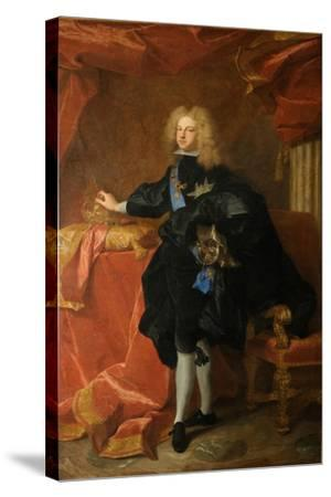 Philip V, King of Spain (1683-174), 1701-Hyacinthe François Honoré Rigaud-Stretched Canvas Print