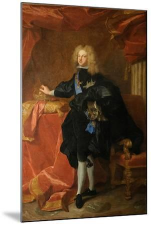 Philip V, King of Spain (1683-174), 1701-Hyacinthe François Honoré Rigaud-Mounted Giclee Print