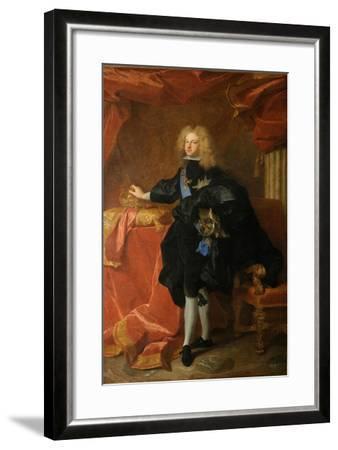 Philip V, King of Spain (1683-174), 1701-Hyacinthe François Honoré Rigaud-Framed Giclee Print