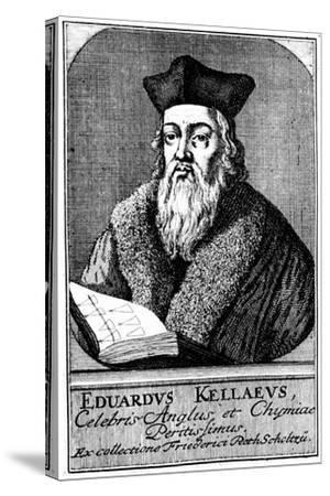 Edward Kelley, Astrologer and Alchemist, C1700--Stretched Canvas Print