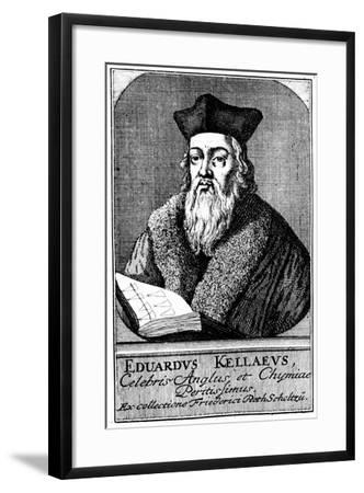 Edward Kelley, Astrologer and Alchemist, C1700--Framed Giclee Print