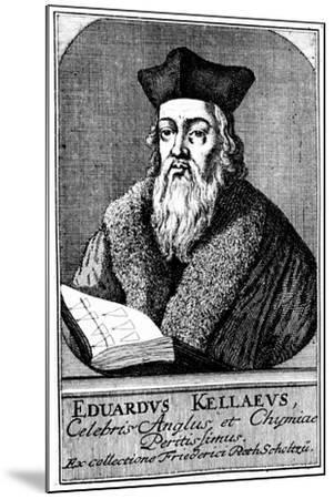 Edward Kelley, Astrologer and Alchemist, C1700--Mounted Giclee Print