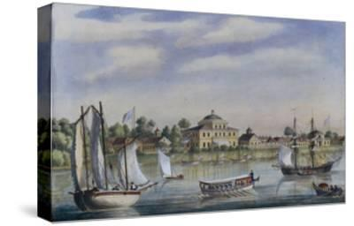 View of the Yelagin Island, 1840S--Stretched Canvas Print