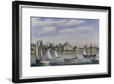 View of the Yelagin Island, 1840S--Framed Giclee Print