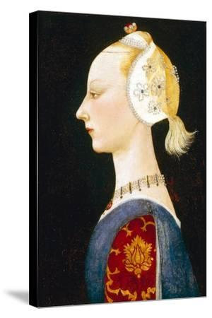 A Young Lady of Fashion, 1462-1465-Paolo Uccello-Stretched Canvas Print