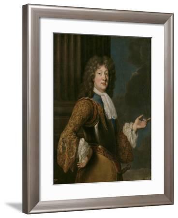 Portrait of Louis, Grand Dauphin of France-François de Troy-Framed Giclee Print