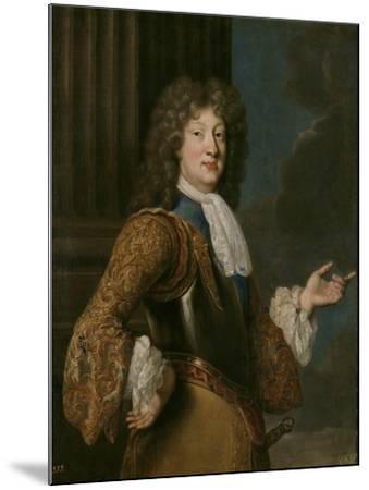 Portrait of Louis, Grand Dauphin of France-François de Troy-Mounted Giclee Print