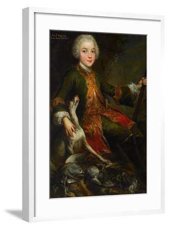 Portrait of Józef Sapieha (1737-179), C. 1740-Augustyn Mirys-Framed Giclee Print
